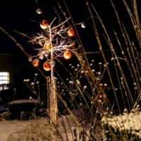 Gartenbeleuchtung: Winterstimmung
